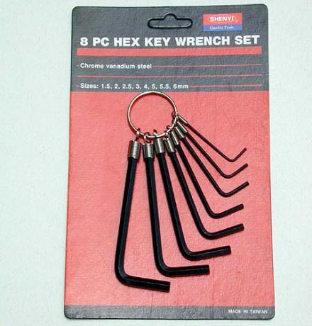 SY09-1 ~ 7 Ring Type Hex Key Wrench Set