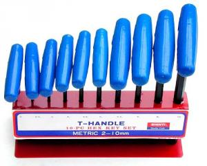 SY19-1~2 T-handle Hex Key Wrench Set